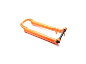 "FOX RACING SHOX Fork 32 SC 29"" 80-100mm 15x110mm Blk Kabolt CL Shiny Orange Lowers 2017"