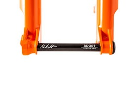 FOX RACING SHOX Fork 34 SC F-S Lower Leg Assembly 2019 Shiny Orange 27.5 120 15X110 Kabolt click to zoom image
