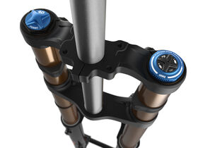 "FOX RACING SHOX 40 Float Factory GRIP2 1.125 2021 - 27.5"" 203mm TA 44mm click to zoom image"