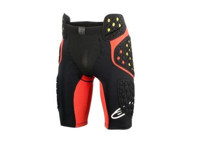 ALPINESTARS Sequence Pro Shorts 2018: Black/red
