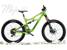 IBIS CYCLES HD3 148mm with X2 shock S Green Machine  click to zoom image