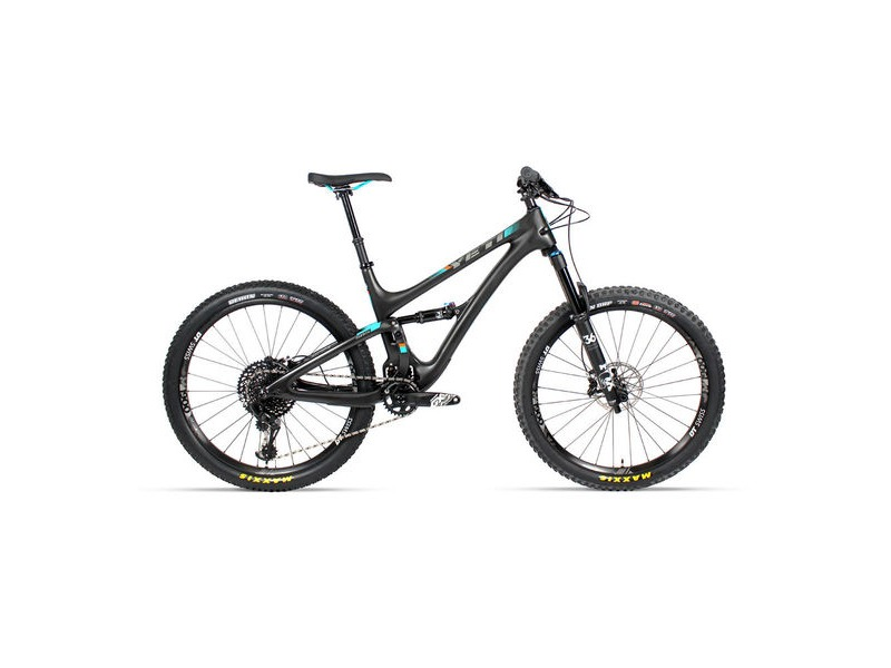 "YETI SB5 C-Series GX Eagle 27.5"" Bike 2019 Raw / Turquoise click to zoom image"