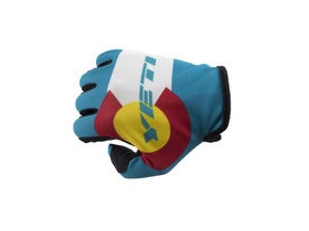YETI Colorado Flag Glove Turquoise/White S click to zoom image