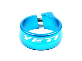 YETI Seat Clamp 35mm Turquoise