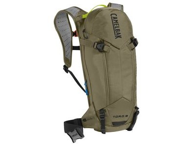 CAMELBAK Toro Protector 8 Dry Hydration Pack Burnt Olive/Lime Punch 8l/280oz