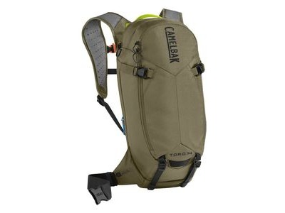 CAMELBAK Toro Protector 14 Dry Hydration Pack Burnt Olive/Lime Punch 14l/490oz