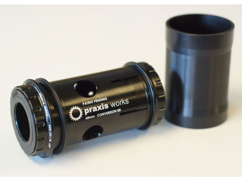 PRAXISWORKS 68mm Road BB30/PF30 Conversion click to zoom image