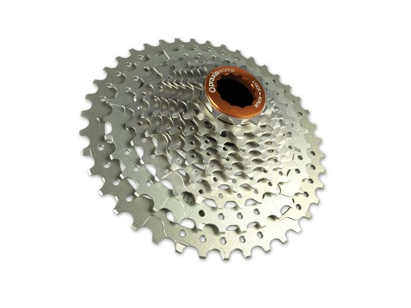 PRAXISWORKS Wide Range 10speed 11-40 cassette click to zoom image