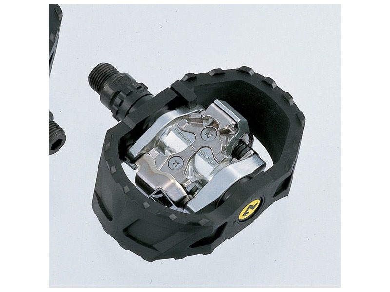 SHIMANO PD-M424 MTB SPD pedals - pop-up mechanism click to zoom image