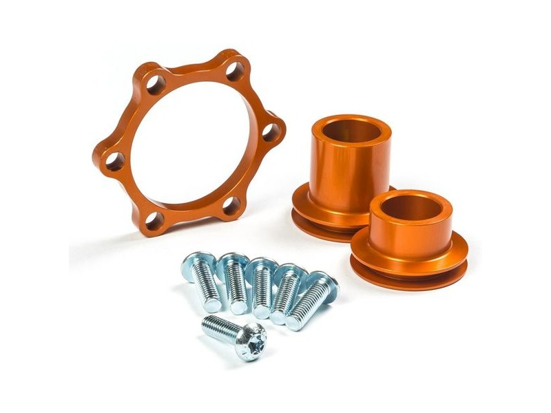 "MRP Better Boost Adaptor Kit Front Boost adaptor kit for DT Swiss 240s ""Fifteen"" 15x100mm hubs - converts to 15x110 click to zoom image"