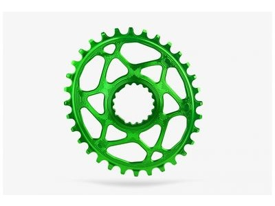 ABSOLUTE BLACK MTB Oval Cannondale Hollowgram Direct Mount Green