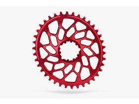 ABSOLUTE BLACK CX Oval SRAM GXP & BB30 Direct Mount Red 44T