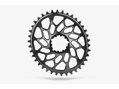 ABSOLUTE BLACK CX Oval SRAM GXP & BB30 Direct Mount Black 38T