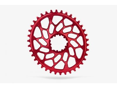 ABSOLUTE BLACK CX Oval SRAM GXP & BB30 Direct Mount Red 42T