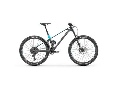 "MONDRAKER Foxy Carbon R 29"" Bike 2019 Matt Carbon / Blue"