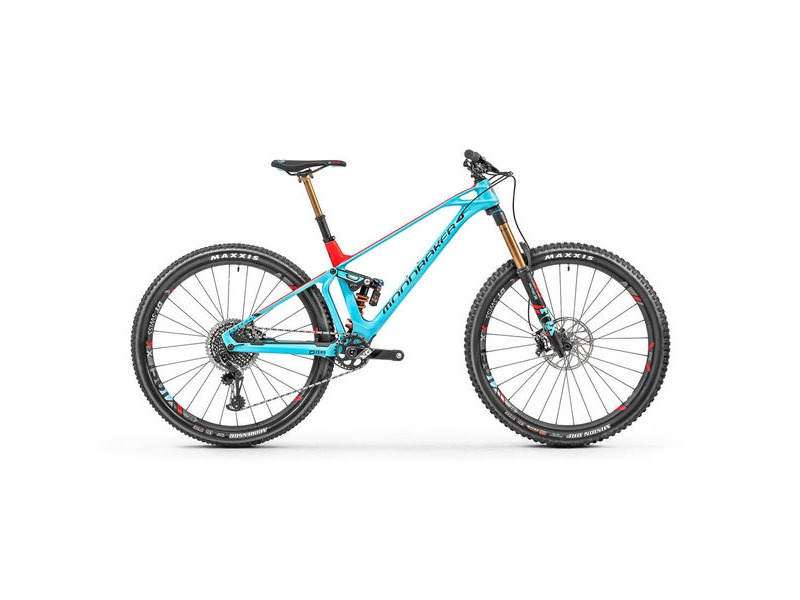 "MONDRAKER Foxy Carbon XR 29"" Bike 2019 Red / Blue click to zoom image"