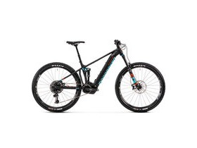 "MONDRAKER Dusk RR 29"" Bike 2020 Black / Light Blue / Flame Red"