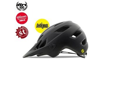 GIRO Chronicle Mips Dirt/MTB Helmet Matt Black/Gloss Black