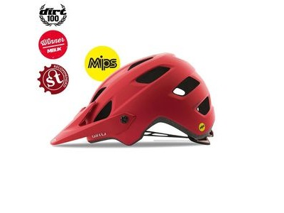 GIRO Chronicle Mips Dirt/MTB Helmet Matt Dark Red