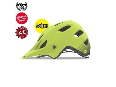 GIRO Chronicle Mips Dirt/MTB Helmet Matte Citron