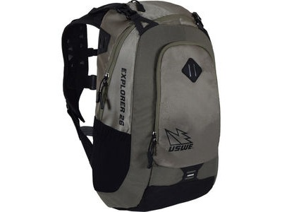 USWE Hydration Explorer 26 Pack Hydration Ready Mud Green