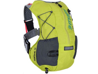 USWE Hydration Vertical 10 Run Pack with 2L Shape Shift Bladder Crazy Yellow
