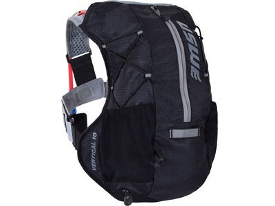 USWE Hydration Vertical 10 Run Pack with 2L Shape Shift Bladder Carbon Black