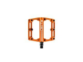 Deity Black Kat Pedals 100x100mm 100X100MM ORANGE  click to zoom image