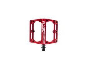 Deity Black Kat Pedals 100x100mm 100X100MM RED  click to zoom image
