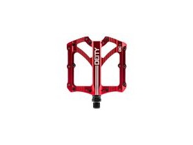 Deity Bladerunner Pedals 103x100mm 103X100MM RED  click to zoom image
