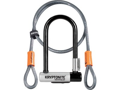 KRYPTONITE Kryptolok Mini-7 w/ Flex Cable & Flexframe Bracket
