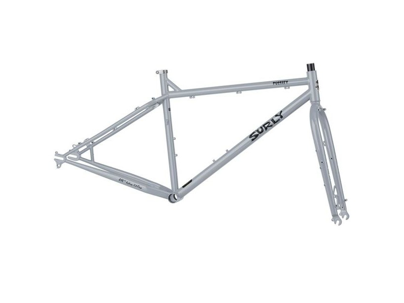 "SURLY Pugsley Frameset Black 14"" click to zoom image"