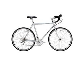 SURLY Long Haul Trucker 9 Speed Silver 2013