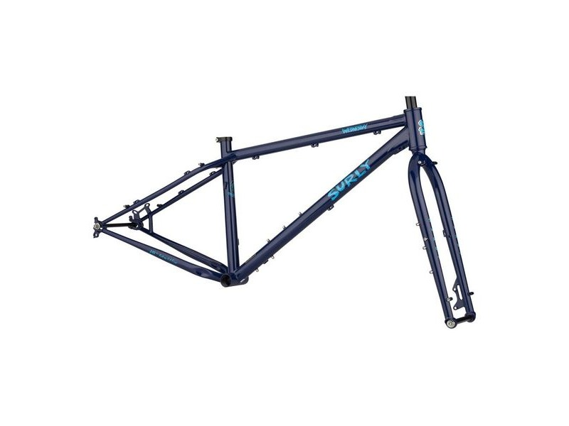 SURLY Wednesday Frameset Adventure/Snow - 44mm H/Tube 150mm Ft Fork & 170/177 Rr D/Outs click to zoom image