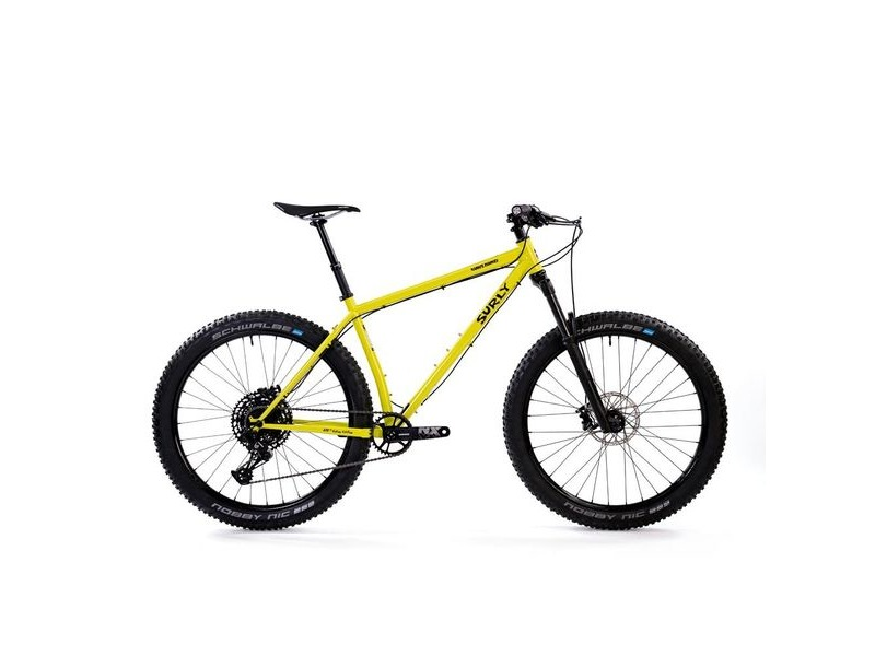 SURLY Karate Monkey Sus 27+ Complete Bike - SRAM NX Eagle Drivetrain, Vapour 35 Wheels, RS Gold35 Suspension Fork Black click to zoom image