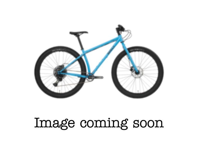 SURLY Krampus 29+ Adventure Bike, SRAM SX 1 x12sp, SRAM Level Disc Brake, Rigid fork Tangled Blue click to zoom image