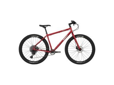 "SURLY Bridge Club 1x12sp 27.5"" Utility Mountain Bike, Hydro Disc Brake, Gnot Boost Black"