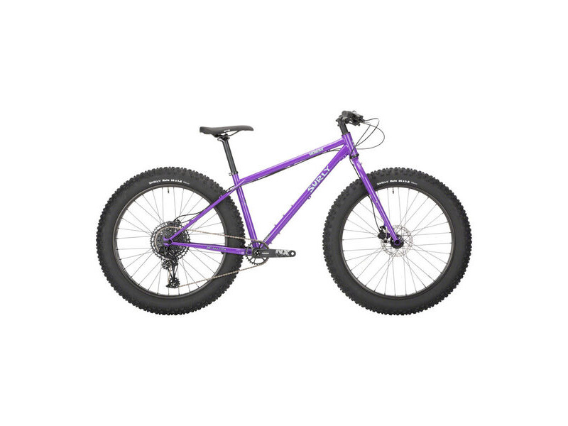 "SURLY Wednesday 26"" Adventure, Disc Brake, SRAM NX Eagle1x12sp, 150 Ft, 177 Rr All-Natural Grape click to zoom image"